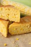 Pan de maíz cocido al horno fresco Imagen de archivo libre de regalías