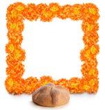 Pan de Muerto dag av det döda brödet arkivfoton
