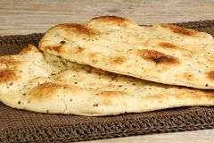 Pan de Naan Foto de archivo libre de regalías