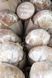 Pan de pan amargo blanco Imágenes de archivo libres de regalías