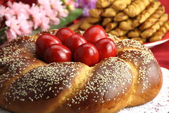 Pan de Pascua fotos de archivo
