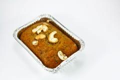 Pan de plátano aislado Imagen de archivo libre de regalías