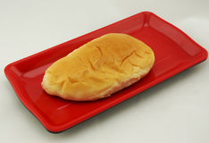 Pan de relleno de las natillas Imagen de archivo libre de regalías