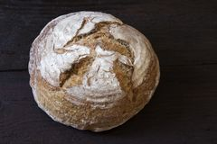 Pan de Rye foto de archivo libre de regalías