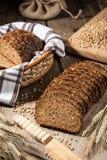 Pan de Rye con las semillas imágenes de archivo libres de regalías