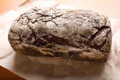 Pan de Rye en el papel del arte Fotografía de archivo libre de regalías
