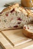 Pan del arándano Imagen de archivo libre de regalías