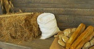 Pan del cereal almacen de video