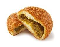 Pan del curry imagenes de archivo