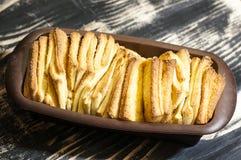 Pan del dulce del tirón-aparte imagen de archivo