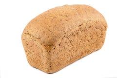 Pan del pan en el fondo blanco fotos de archivo