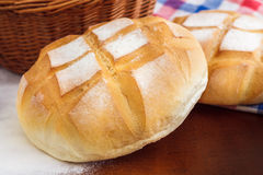 Pan del pan redondo Imagen de archivo