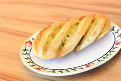 Pan del queso del ajo Foto de archivo