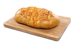 Pan del queso y de cebolla entero Imagen de archivo