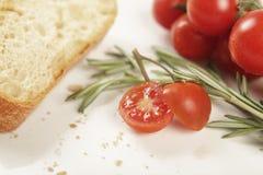 Pan del romero del tomate Fotos de archivo