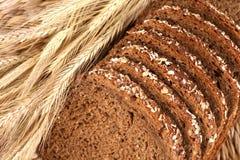 Pan del trigo integral Imágenes de archivo libres de regalías