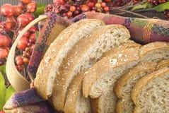 Pan del trigo integral foto de archivo