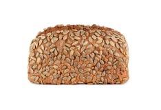 Pan del trigo integral aislado en el fondo blanco Imágenes de archivo libres de regalías
