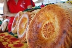 Pan del Uzbek Foto de archivo