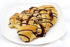 Pan delicioso del chocolate Fotografía de archivo
