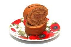 Pan di Spagna Fotografia Stock