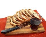 Pan di Spagna affettato Fotografie Stock Libere da Diritti