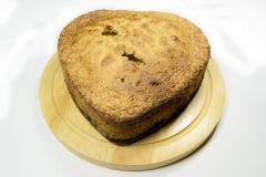 Pan di Spagna con l'uva Fotografie Stock