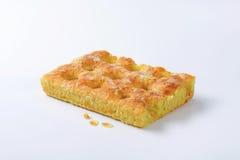 Pan di Spagna della mandorla Fotografie Stock Libere da Diritti