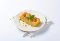 Pan di Spagna della mandorla Fotografia Stock Libera da Diritti