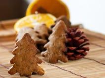 Pan di zenzero di Natale Immagine Stock Libera da Diritti