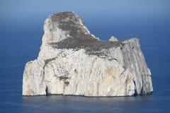 Pan di Zucchero in Sardinia. Italy, coastline, rocks, rocky, bay, seaside, masua, nature, blue, travel, landscape, vacation, island, cliff, sulcis, summer royalty free stock photography