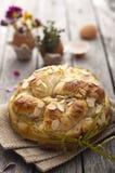 Pan dulce de Pascua Foto de archivo