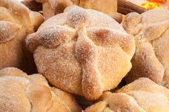 Pan dulce llamado (Pan de Muerto) Foto de archivo libre de regalías