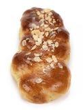 Pan dulce (receta tsoureki-griega) Foto de archivo