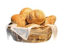 Pan en cesta Imagen de archivo