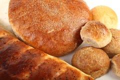 Pan en el fondo blanco Foto de archivo