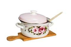 Pan en keukengerei Royalty-vrije Stock Foto