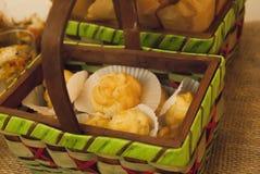 Pan en la caja Imágenes de archivo libres de regalías