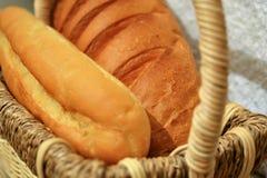 Pan en la cesta p2 Imágenes de archivo libres de regalías