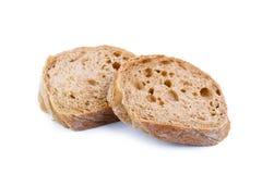 Pan en un fondo blanco foto de archivo libre de regalías