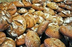 Pan en un mercado italiano Fotografía de archivo libre de regalías