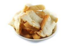 Pan en una taza imagenes de archivo