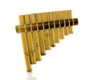 Pan-Flöte Lizenzfreies Stockbild