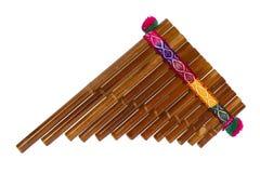 Pan Fluit Royalty-vrije Stock Afbeeldingen
