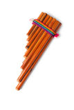 Pan flute Royalty Free Stock Images