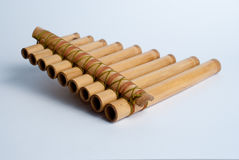 Pan flute Stock Photography