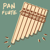 Pan Flute Royalty Free Stock Photography