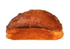 Pan francés aislado en blanco Fotografía de archivo