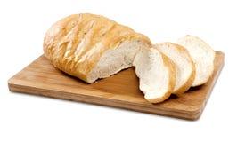 Pan francés cortado Foto de archivo