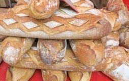 Pan francés para la venta Foto de archivo